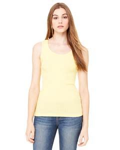 Bella + Canvas Ladies 2x1 Rib Tank