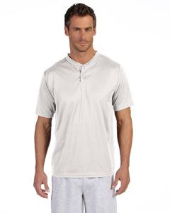 Augusta Sportswear Adult Wicking Two-Button Jersey