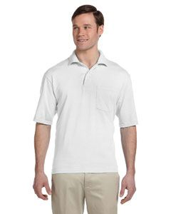 Jerzees Adult 5.6 oz. SpotShield Pocket Jersey Polo