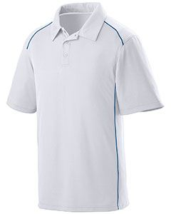 Augusta Drop Ship Adult Wicking Polyester Sport Shirt with Contrast Piping