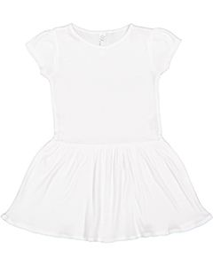 Rabbit Skins Drop Ship Toddler Baby Rib Dress