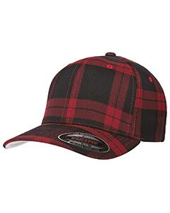 Yupoong Drop Ship Flexfit Tartan Plaid Cap