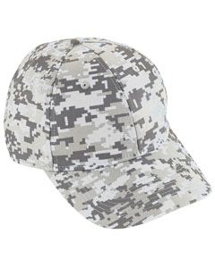 Augusta Drop Ship Adult Digi Camo Cotton Twill Cap