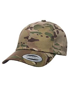 Yupoong Drop Ship Low Profile Cotton Twill Multicam Cap