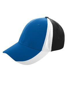 Augusta Drop Ship Sport Flex 3-Color Athletic Mesh Cap