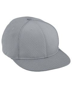 Augusta Drop Ship Adult Athletic Mesh Flat Bill Cap