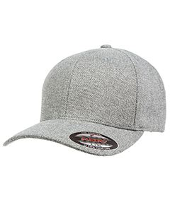 Flexfit Adult Poly Melange Heather Stretch Cap