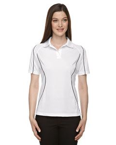 Ash City - Extreme Ladies Eperformance Velocity Snag Protection Colorblock Polo with Piping