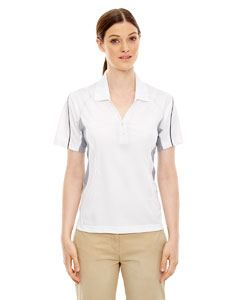 Ash City - Extreme Ladies Eperformance Parallel Snag Protection Polo with Piping