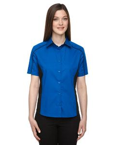 Ash City - North End Ladies Fuse Colorblock Twill Shirt