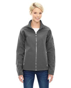 Ash City - North End Ladies Three-Layer Fleece Bonded Soft Shell Technical Jacket