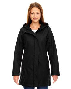 Ash City - North End Ladies City Textured Three-Layer Fleece Bonded Soft Shell Jacket