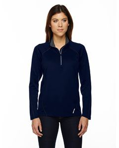Ash City - North End Ladies Radar Quarter-Zip Performance Long-Sleeve Top