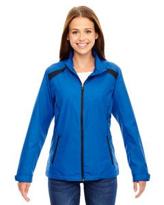 Ash City - North End Ladies Tempo Lightweight Recycled Polyester Jacket with Embossed Print