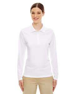 Ash City - Core 365 Ladies Pinnacle Performance Long-Sleeve Pique Polo
