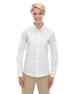 Ash City - Core 365 Ladies Operate Long-Sleeve Twill Shirt