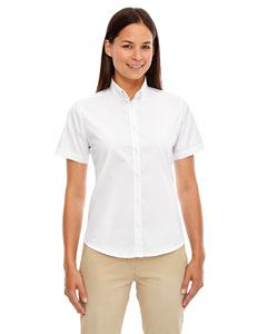 Ash City - Core 365 Ladies Optimum Short-Sleeve Twill Shirt