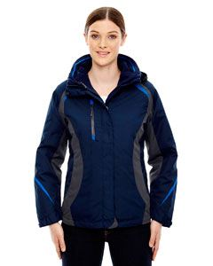 Ash City - North End Ladies Height 3-in-1 Jacket with Insulated Liner