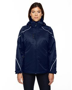 Ash City - North End Ladies Angle 3-in-1 Jacket with Bonded Fleece Liner