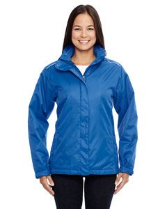 Ash City - Core 365 Ladies Region 3-in-1 Jacket with Fleece Liner