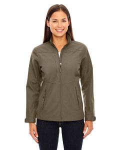 Ash City - North End Ladies Forecast Three-Layer Light Bonded Travel Soft Shell Jacket