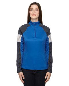 Ash City - North End Ladies Quick Performance Interlock Quarter-Zip