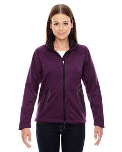 Ash City - North End Ladies Splice Three-Layer Light Bonded Soft Shell Jacket with Laser Welding