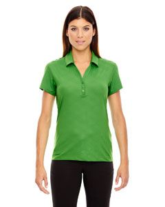 Ash City - North End Ladies Maze Performance Stretch Embossed Print Polo