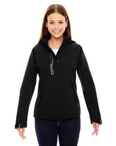 Ash City - North End Ladies Axis Soft Shell Jacket with Print Graphic Accents