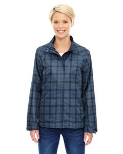 Ash City - North End Ladies Locale Lightweight City Plaid Jacket