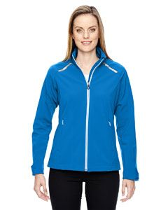 Ash City - North End Ladies Excursion Soft Shell Jacket with Laser Stitch Accents