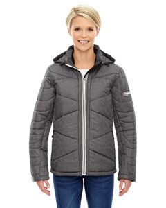 Ash City - North End Ladies Avant Tech Melange Insulated Jacket with Heat Reflect Technology