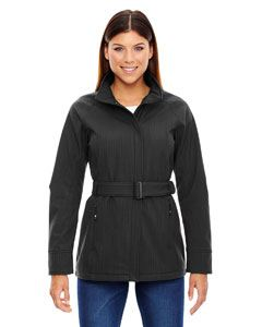 Ash City - North End Ladies Skyscape Three-Layer Textured Two-Tone Soft Shell Jacket
