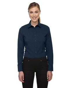 Ash City - North End Ladies Melange Performance Shirt