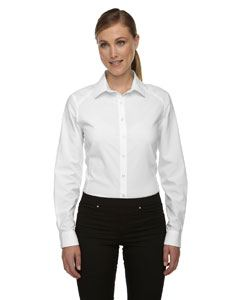 Ash City - North End Ladies Rejuvenate Performance Shirt with Roll-Up Sleeves