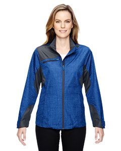 Ash City - North End Ladies Sprint Interactive Printed Lightweight Jacket