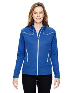 Ash City - North End Ladies Cadence Interactive Two-Tone Brush Back Jacket