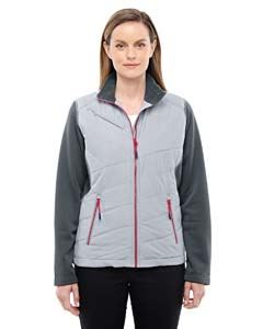 Ash City - North End Ladies Quantum Interactive Hybrid Insulated Jacket