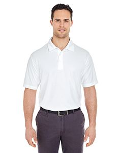 UltraClub Men's Platinum Performance Jacquard Polo with TempControl Technology