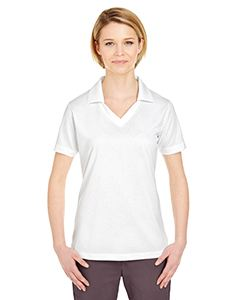 UltraClub Ladies Platinum Performance Jacquard Polo with TempControl Technology