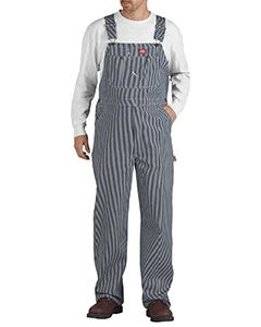Dickies Drop Ship Unisex Hickory Stripe Bib Overall