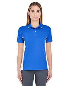 UltraClub Ladies Cool & Dry Sport Two-Tone Polo