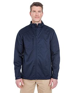 UltraClub Men's Solid Soft Shell Jacket