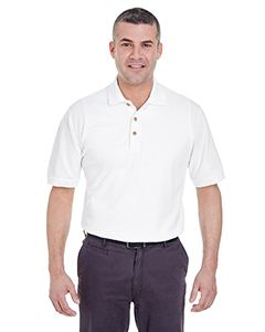 UltraClub Men's Tall Classic Pique Polo