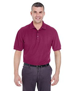 UltraClub Men's Tall Whisper Pique Polo