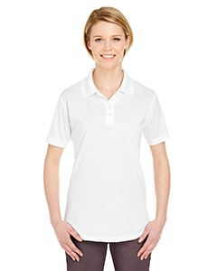 UltraClub Ladies Cool & Dry 8-Star Elite Performance Interlock Polo