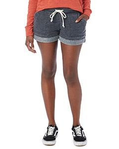 Alternative Drop Ship Ladies Lounge Burnout French Terry Shorts