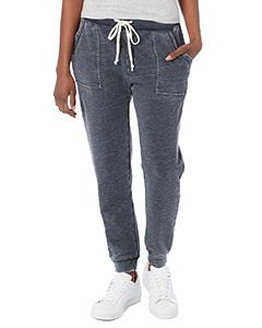 Alternative Drop Ship Ladies Long Weekend Burnout French Terry Pants