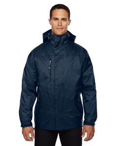 Ash City - North End Adult Performance 3-in-1 Seam-Sealed Hooded Jacket