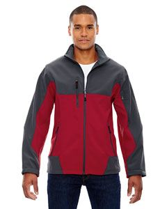 Ash City - North End Men's Compass Colorblock Three-Layer Fleece Bonded Soft Shell Jacket